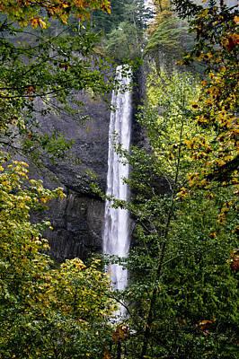 Photograph - Latourell Falls by Albert Seger