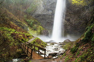 Photograph - Latourell Falls by Angie Vogel