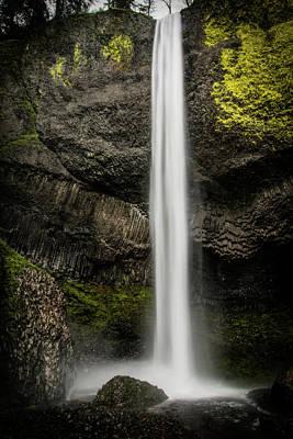 Photograph - Latourell Falls by Joe Hudspeth