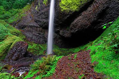 Photograph - Latourell Falls Oregon by Jonathan Davison