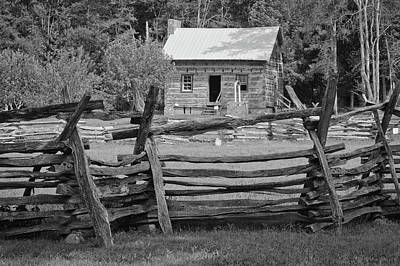 Photograph - Latta Plantation Cabin by Phyllis Peterson