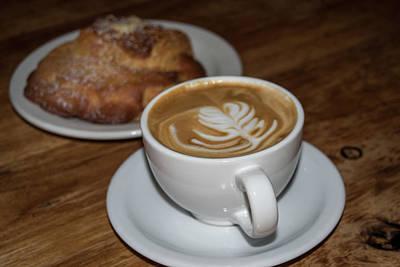 Photograph - Latte And Scone by Dan McManus