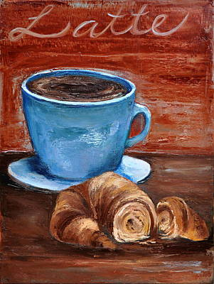 Painting - Latte by Lindsay Frost