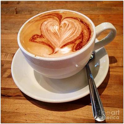 Photograph - Latte Love by Susan Garren