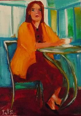Latte Time Original by Irit Bourla