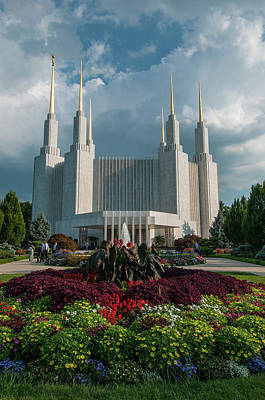 Photograph - Latter Day Saints Flowers 2 by Brian Green