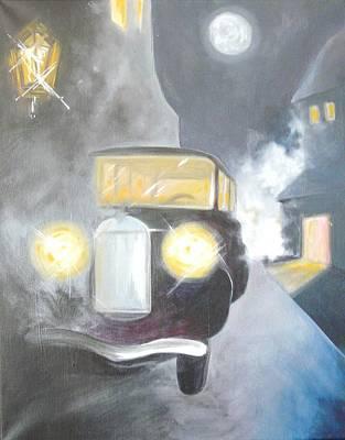 Quadro Painting - L'attesa by Federico  De muro