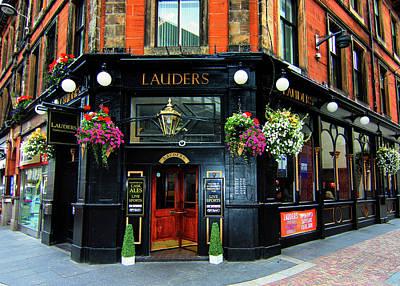 Photograph - Lauders Pub Iverness Scotland by Tom Prendergast