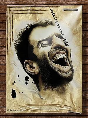 Digital Art - Laugh If You Wanna...laugh by Larisa Isaeva