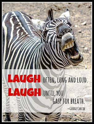 Photograph - Laugh by Teresa Wilson