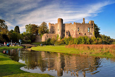 Laugharne Castle 1 Art Print