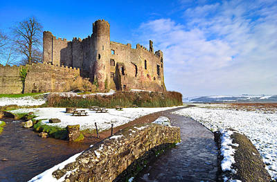 Laugharne Castle 2 Art Print