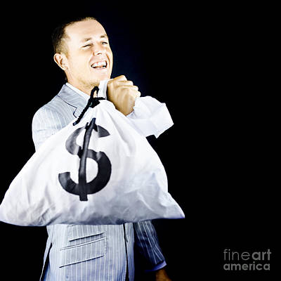 Earnings Photograph - Laughing All The Way To The Bank by Jorgo Photography - Wall Art Gallery