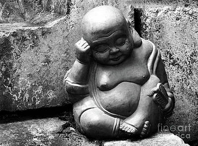 Photograph - Laughing Buddha Naps by Ethna Gillespie