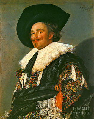 Photograph - Laughing Cavalier 1624 by Padre Art