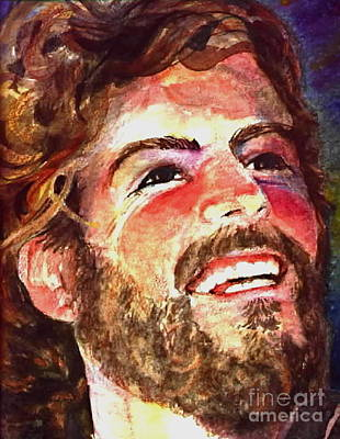 Jesus Laughing Painting - Laughing Jesus by Reveille Kennedy