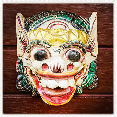 Cool Photograph - Laughing Mask by Matthias Hauser