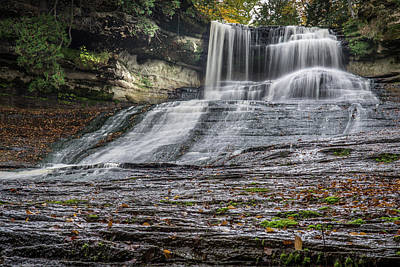 Photograph - Laughing Whitefish Falls by William Christiansen