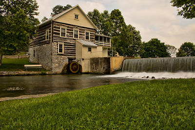 Photograph - Laughlin Mill  by Kristia Adams