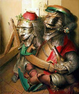 Rire Painting - Laughter by Andre Martins de Barros
