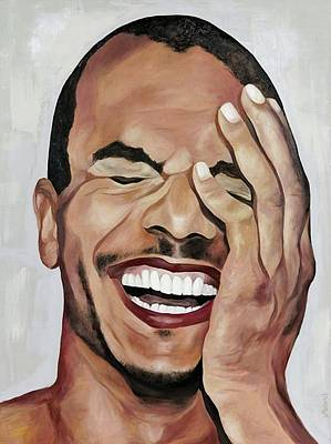 Laugh Painting - Laughter by Natalia Marinych