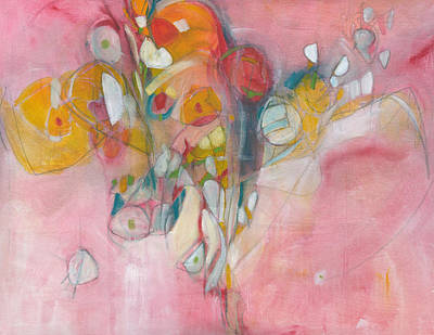 Painting - Laughters Wings In The Wind by Christine Alfery