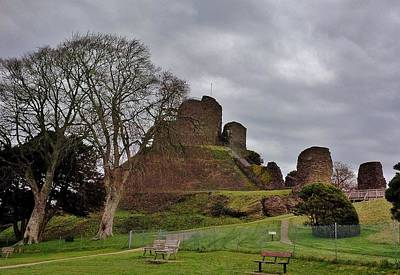 Photograph - Launceston Castle by Richard Brookes