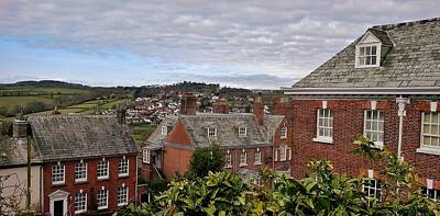 Photograph - Launceston Rooftops by Richard Brookes