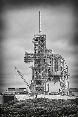 John F Kennedy Space Center Photograph - Launch Pad 39a by Shawn McMillan
