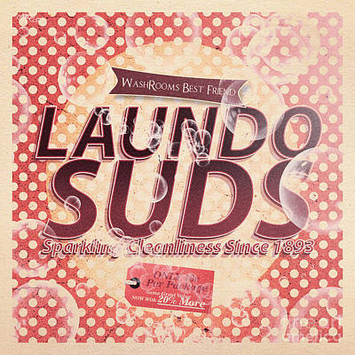 Digital Art - Laundo Soap Suds Advertising by Jorgo Photography - Wall Art Gallery