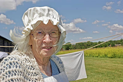 Photograph - Laundress - Fort Atkinson - Nebraska by Nikolyn McDonald