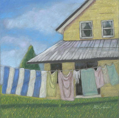 Painting - Laundry Day by Arlene Crafton