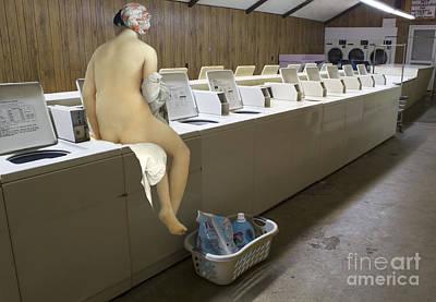 Photograph - Laundry Day by Elena Nosyreva