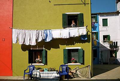Photograph - Laundry Day In Burano II by Louise Fahy