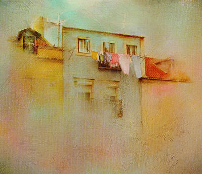Photograph - Laundry Day In Europe by Carla Parris