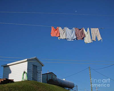 Photograph - Laundry Day In Newfoundland by Tatiana Travelways