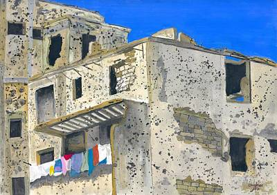 Painting - Laundry Day by Joe Dagher