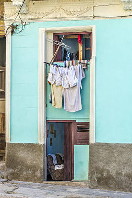 Photograph - Laundry Day by Lou Novick