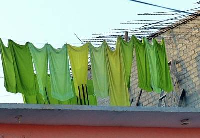 Photograph - Laundry Day by Rosanne Licciardi