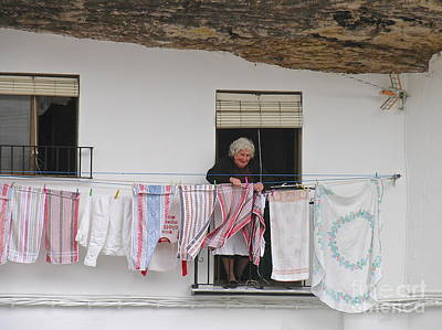 Photograph - Laundry Day by Suzanne Oesterling