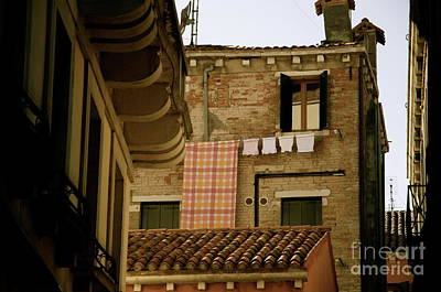 Photograph - Laundry Day Venice by Louise Fahy