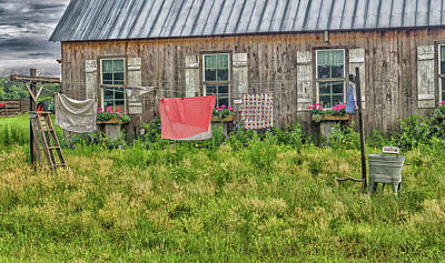 Photograph - Laundry by Dennis Dugan