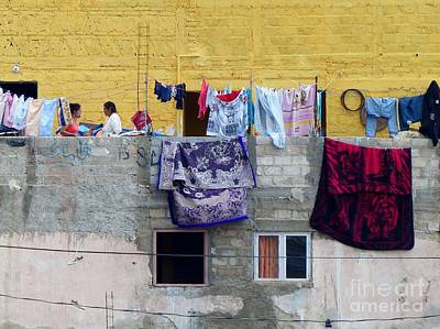 Photograph - Laundry In Guanajuato by Rosanne Licciardi