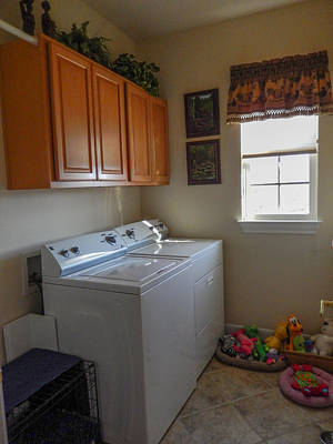 Photograph - Laundry Room by John Johnson