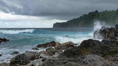 Photograph - Laupahoehoe Point by Pamela Walton
