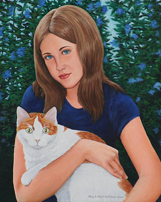 Painting - Laura And Luke by Penny Birch-Williams