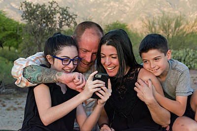 Photograph - Laura,mikey,marissa,ivan H29 by Mark Myhaver
