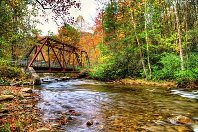 Photograph - Laurel Creek Autumn by Dale R Carlson