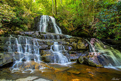 Photograph - Laurel Falls by Burland McCormick