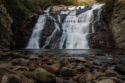 Photograph - Laurel Falls In Autumn II by Jeff Severson